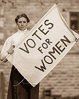 Elizabeth as Sylvia Pankhurst Peter Boyd Photography
